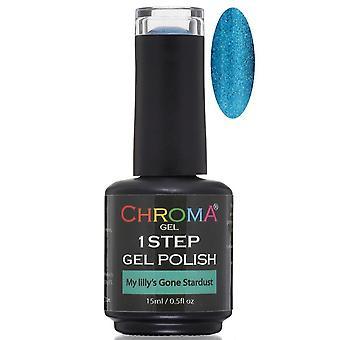 Chroma Gel One Step Gel Polish - My Lilly's Gone Stardust