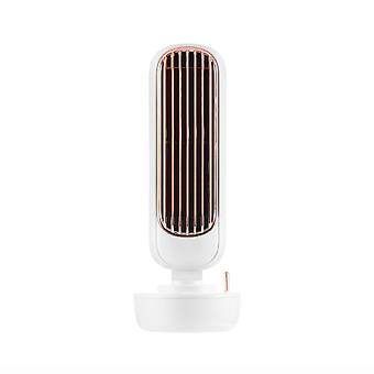 Umidificazione Ventilatore elettrico Mute verticale senza foglie Alto Volume Tower Fan Home Office Desktop Retro Water Cooling Fan