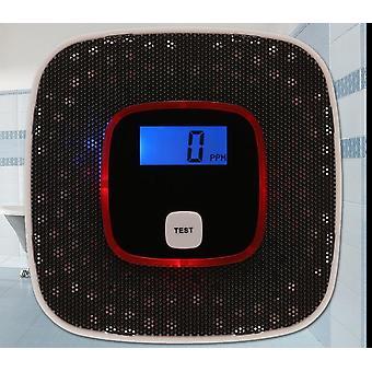 Lcd monoxid de carbon de gaz, senzor de alarmă, detector de fum tester, monitor instrument