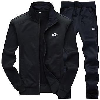 Men Casual Set, Hooded Spring, Autumn, Men's Sportswear, Hoodies+pants Sets