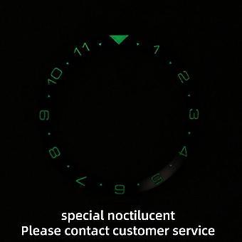 Keramické rámček vložka pre Seiko Dial Prospex hodinky tvár nahradiť príslušenstvo