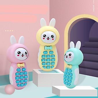Oplaadbaar leren mobiele telefoon speelgoed