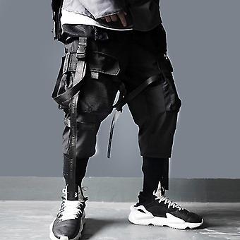 Multi Pockets Cargo Pants Men Casual Track Trouser