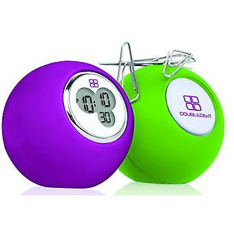 Doubledigit watch desky light green/purple ddigit00041