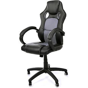 Racer XS irodai szék fekete és szürke