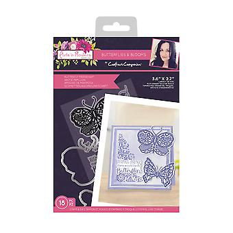 Crafter's Companion Butterflies and Blooms Stamp & Die Butterfly Friendship