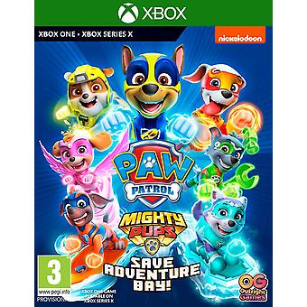 PAW Patrol Mighty Pups Save Adventure Bay Xbox One Game | Series X