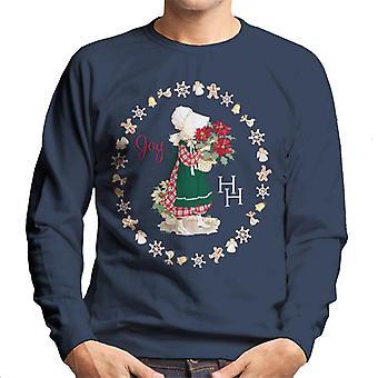 Holly Hobbie Jul Joy Män's Sweatshirt