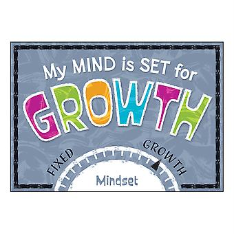 "My Mind Is Set for Growth Argus Poster, 13.375"" x 19"""