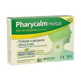Pharycalm herbal sore throat 24 tablets
