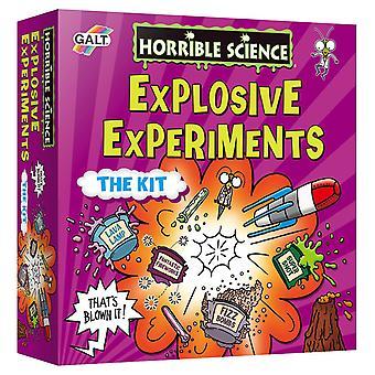 Galt játékok borzalmas tudomány robbanásveszélyes kísérletek