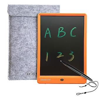 Krieitiv lcd writing tablet 10 inch colorful screen electronic writing drawing board rainbow portabl