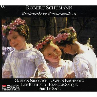 Eric Le Sage - Schumann: Piano y música de cámara, importación USA Vol. 10 [CD]