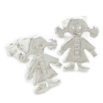 Meisje Sterling Silver Stud Oorbellen .925 X1 Pair Meisjes Kinderen Kinderen