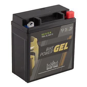 intAct YB5L-B / 50512 Gel Bike-Power Battery