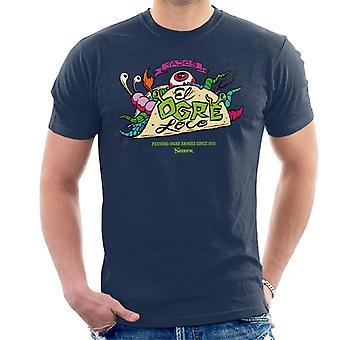 Shrek Tacos El Ogre Loco Män's T-shirt