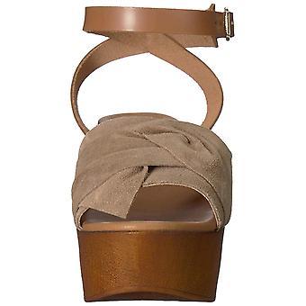 Seychelles Womens Deep Breathe Suede Open Toe Casual Platform Sandals