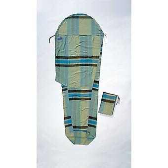 Cocoon Cotton Flannel Mummy Liner (African Rainbow) - African Rainbow