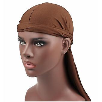 Fashion Elegant Spandex King & s Durag Biker Head Wrap Skullcap Bandanna