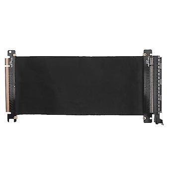Scheda di porta di estensione della scheda cavo flessibile Pci Express High Speed 16x (nero)
