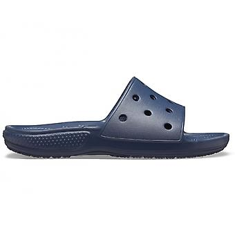 Crocs 206121 Classic Slide Mule Sandals Navy