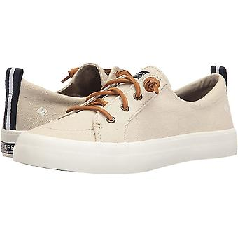 Sperry Women's Shoes Crest Vibe Linen Fabric Low Top Slip On Fashion Sneakers