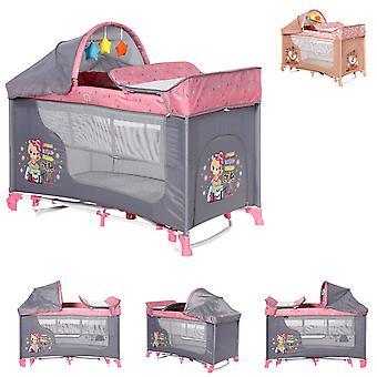 Lorelli Travel Bed Moonlight två nivåer Swing funktion madrass wrap rest