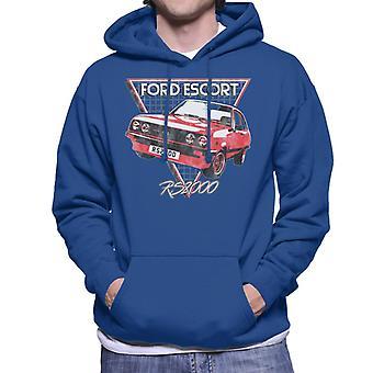 Ford Escort RS2000 Heren Sweatshirt met Capuchon