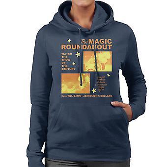 The Magic Roundabout Retro Show Poster Women's Hooded Sweatshirt