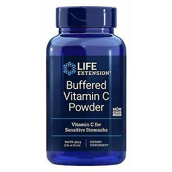 Life Extension puskuroitu C-vitamiini jauhe 454 g