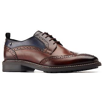 Base london homme lennox wingtip derby chaussure de différentes couleurs 31211