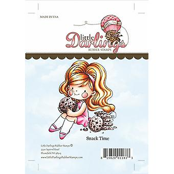Little Darlings Stamp - Snack Time