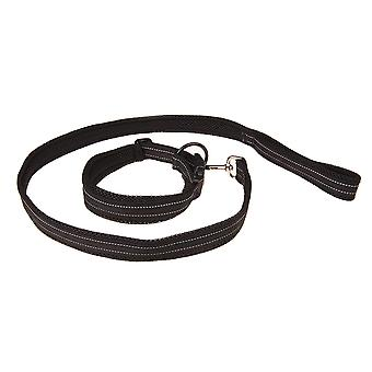 Pet Dog Leash With Collar Breathable Wear Resistant Stretch Adjustable Leash