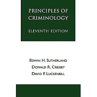 Principes de criminologie
