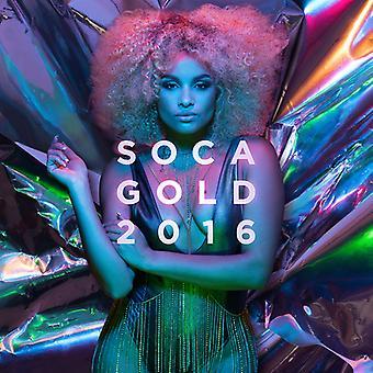 Forskellige Kunstner - Soca Gold 2016 [CD] USA import