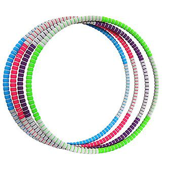 Hula Hoop For Adults, Weighted Hula Hoop for Weight Loss Fitness Exercise Workout