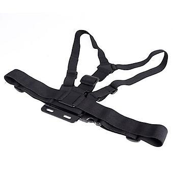 Justerbar elastisk kropp bröstsele rem montera bälte för Gopro Hero 1 2 3 HERO3+ 4