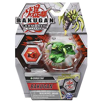 Bakugan Core Armored Alliance Action Figure 1 Pack 2 Inch Figure Series 2 - Ventus Barbetra