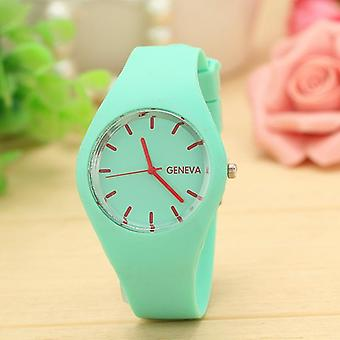 Silicone Women Watch, Quartz Casual Dress Watches, Wristwatch