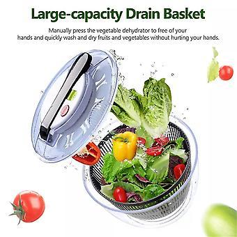 Deshidrato vegetal versátil ensalada spinner grande