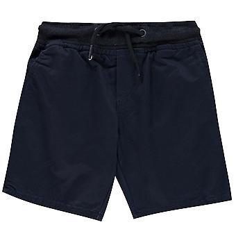 No Fear Boys Chino Shorts Junior Bottoms Elasticated Waistband Drawstring