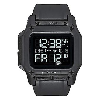 Nixon Chinese Automatic Digital Watch Men with Plastic Strap A1180-3015-00