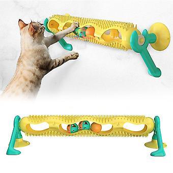 Pet Cat Puzzle Jucării Orbit Bile Kitten Intelligence Platan Cat Zgarieturi Post Ventuza Cupa