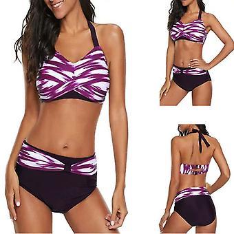 Costume da bagno da ragazza di grandi dimensioni split bikini slim gradient sexy costumi da bagno sexy