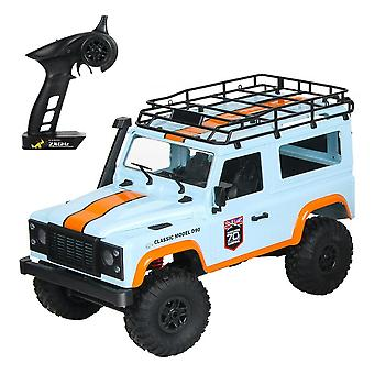 2.4G 1/12 4WD RTR  RC Car For Land Rover 70 Anniversary Edition Vehicle Model|RC Trucks(Blue)