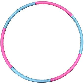 Detachable & size adjustable professional colorful hula hoop for kids dt6360