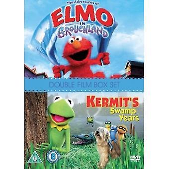 Adventures Of Elmo In Grouchland/Kermit es Swamp Years DVD