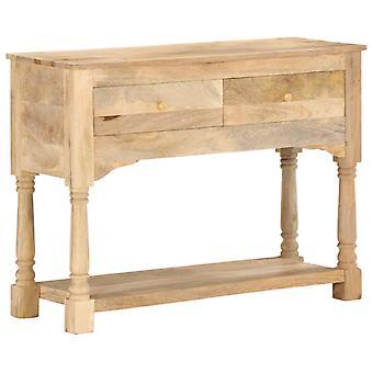 Wall cabinet 100X35X76 Cm Solid Mango Wood