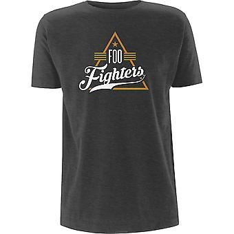 Foo Fighters - Kolmio Unisex XX-Large T-paita - Harmaa