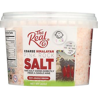 Real Co Tub Salt Hmlayan Pink, Case of 6 X 20 Oz